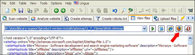 asp net web sitemap and xml sitemap provider