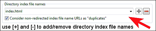directory index file