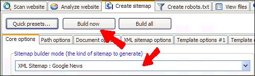 google news sitemaps with xml sitemap generator