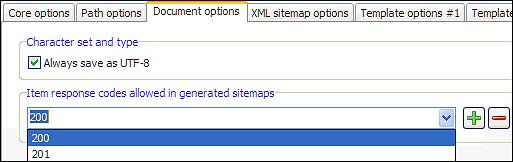 sitemap builder can exclude urls when building xml sitemaps