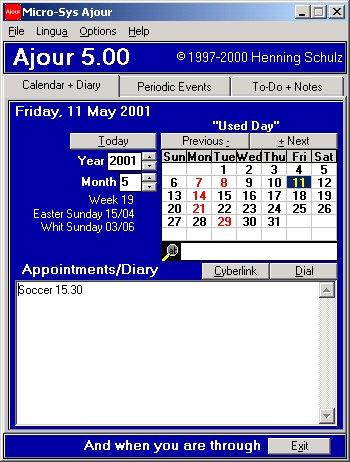 Micro-Sys Ajour v5.11 Screenshot