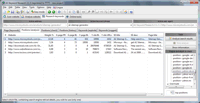 Screenshot: A1 Keyword Research 2.1.3 in Windows 7 - keyword research position analysis