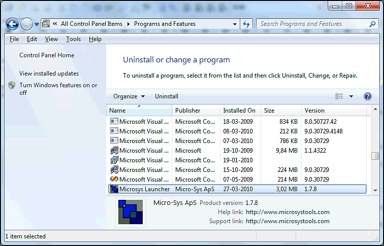 How to Uninstall The Launcher Software on Windows