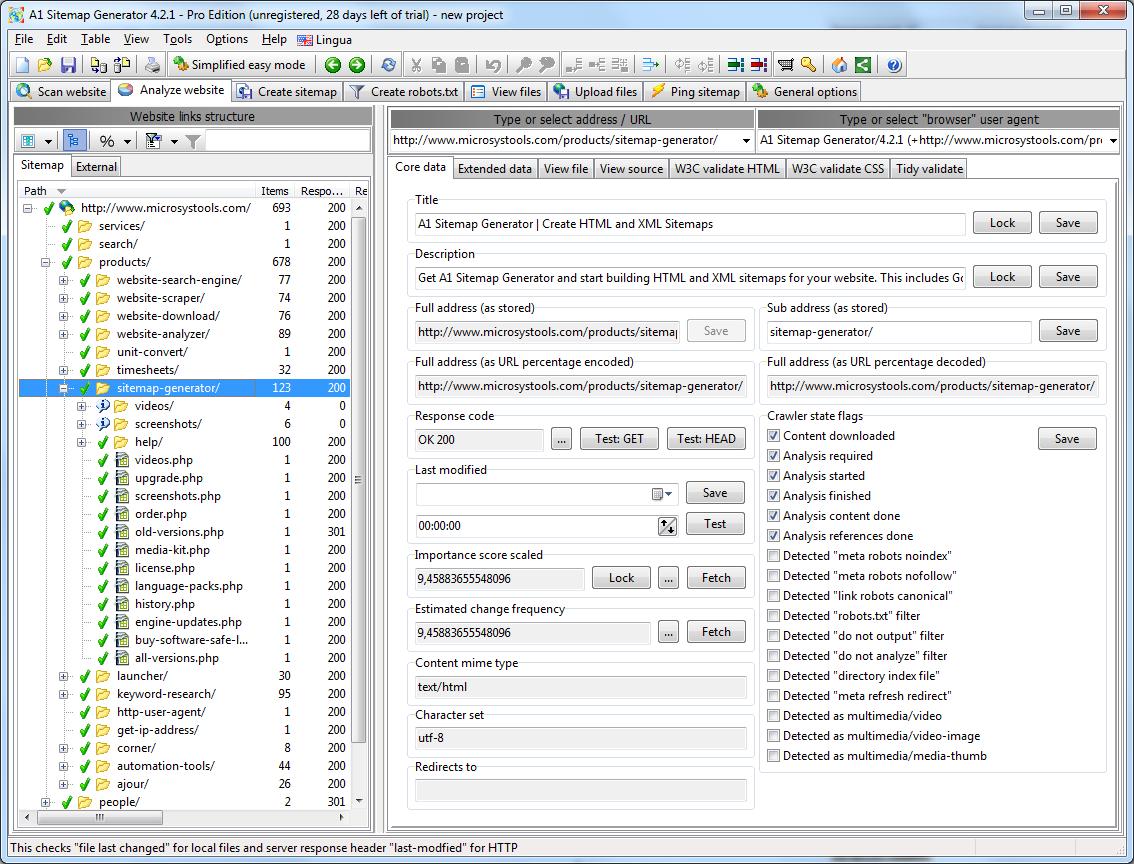 sitemap generator create html and xml sitemaps