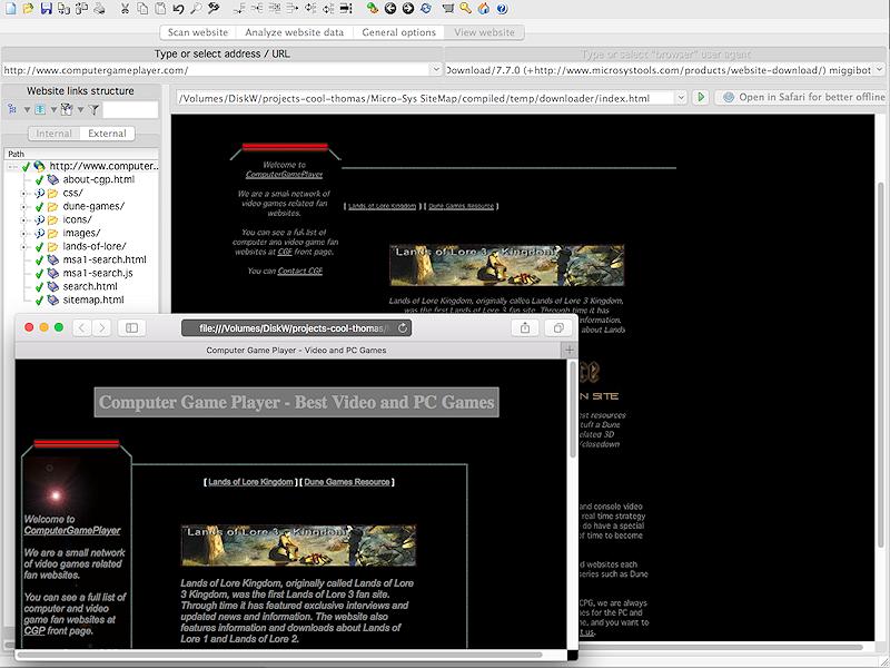 A1 Website Download for Mac full screenshot